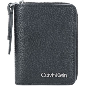 レディース CALVIN KLEIN CK BASE SMALL WALLET 財布  ブラック