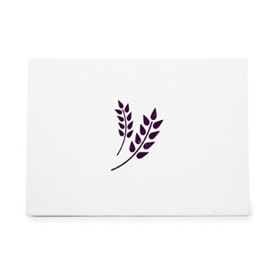 Wheat Barley Grain Style 6267, Rubber Stamp Shape great for Scrapbooking, Crafts, Card Making, Ink...