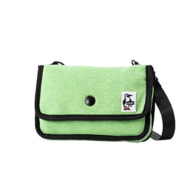 [チャムス]CHUMS Mini Pouch Sweat H/Lime