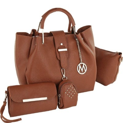 MKFコレクション メンズ ビジネス系 バッグ Adina 4 Piece Top Handle Satchel with Crossbody, Wallet & Coin Pouch 14480