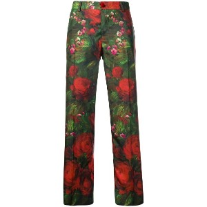 F.R.S For Restless Sleepers rose print trousers - グリーン