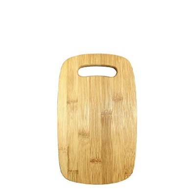 (25cm x 15cm) - Gourmet Home Products Small Bamboo Cutting Board with Cut Out Handle, 25cm x 15cm,...
