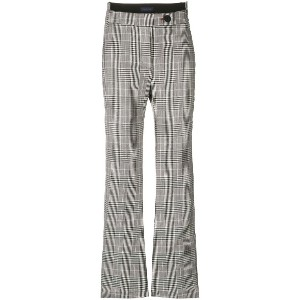 Eudon Choi Prince of Wales trousers - グレー