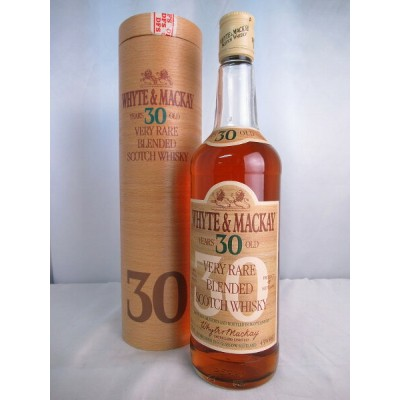 WHYTE&MACKAY YEARS 30 OLD VERY RARE BLENDED SCOTCH WHISKY ホワイト マッカイ 30年 ベリー レア ブレンド スコッチ ウィスキー 旧...