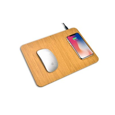 Black Olive QI Wireless Quick Charge Mouse Pad ワイヤレス充電器マウスパッド (iPhone XS/XR / X / 8 QI Galaxy S10 /...