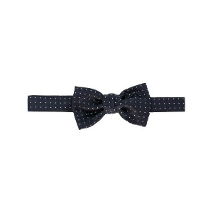 Lanvin classic patterned bow-tie - ブルー