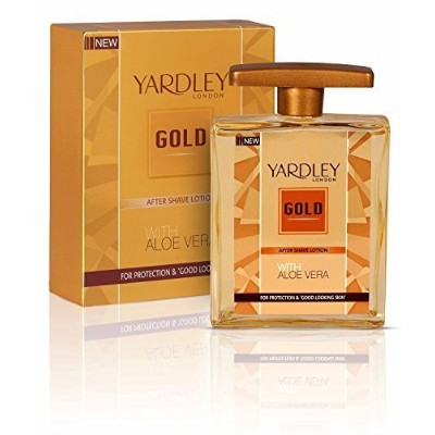 Yardley Gold After Shave Lotion with Aloe Vera, 50ml BY PIHUZ STORE by Yardley [並行輸入品]
