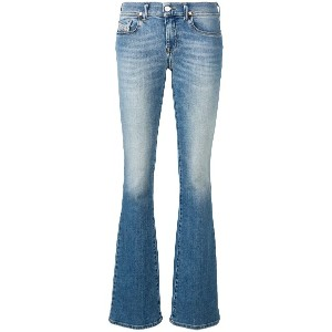 Diesel low rise faded jeans - ブルー