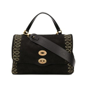 Zanellato studded tote bag - ブラック