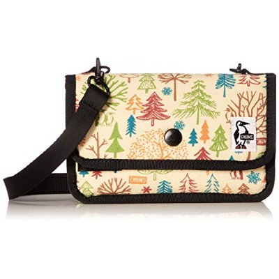 [チャムス]CHUMS Mini Pouch Sweat Tree