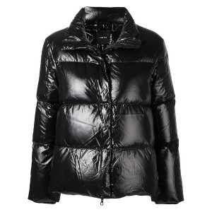 Duvetica funnel neck puffer jacket - ブラック