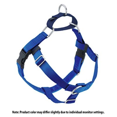 Freedom No-Pull Harness ONLY, Large Royal Blue by Wiggles Wags Whiskers