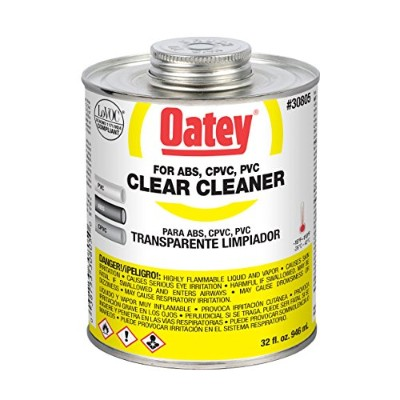 Oatey All Purpose Cleaner低VOC 4オンスクリア