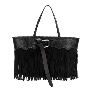 Dsquared2 fringed tote bag - ブラック