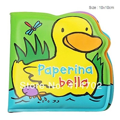 Little duck swimming bath book Baby swimming toys by Lek Baby World