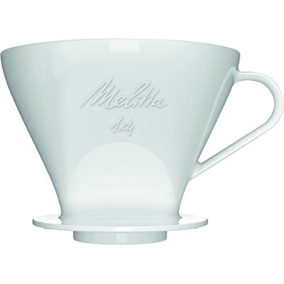 Melitta 1 x 4 Permanent Melitta 1 x Porcelain Coffee Filter for Filter Bags 4 Size