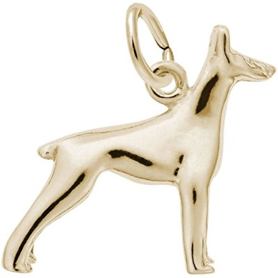 レンブラントDoberman Dog Charm