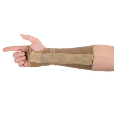 FREEDOM Long Elastic Wrist Support, Right, Medium by Freedom