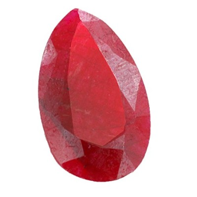barishh 19.55 CTS Pear Shape Natural Ruby Gemstone With証明書