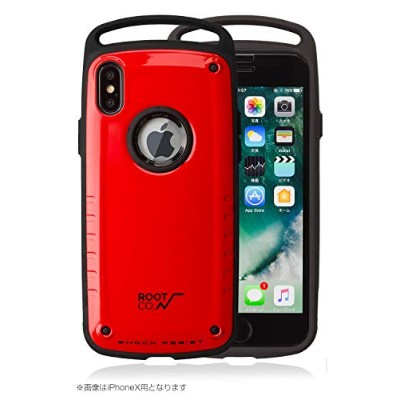 【ROOT CO.】iPhone XS Max 耐衝撃 iPhone ケース Gravity Shock Resist Case Pro. (レッド/グロス)