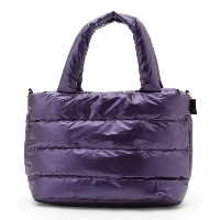 【ITS' DEMO(イッツデモ)】 ROOTOTE フェザーダウントート OUTLET > バッグ・財布・小物入れ > トートバッグ ロイヤルパープル