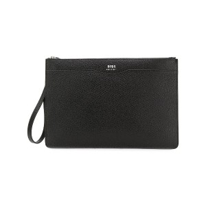 Boss Hugo Boss document clutch - ブラック