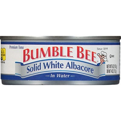 Bumble Bee Solid White Albacore Tuna in Water, 5 Ounce Can (Pack of 24) by Bumble Bee