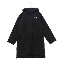 【SALE 30%OFF】アンダーアーマー UNDER ARMOUR ジュニア ベンチコート UA Boys Insulated Long Coat 1305902