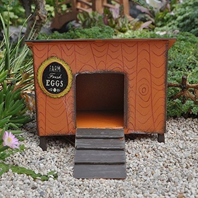 Stuido M Gypsy Garden Mini Chicken Coop gg196 by Studio M