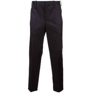 Neil Barrett cropped tailored trousers - ブラック