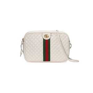 Gucci Small quilted leather shoulder bag - ホワイト