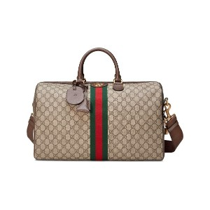 Gucci Ophidia GG medium carry-on duffle - ブラウン