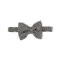 Tom Ford patterned bow tie - ブラック
