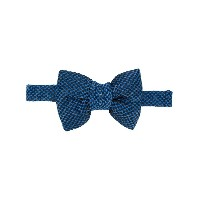 Tom Ford micro dot bow tie - ブルー