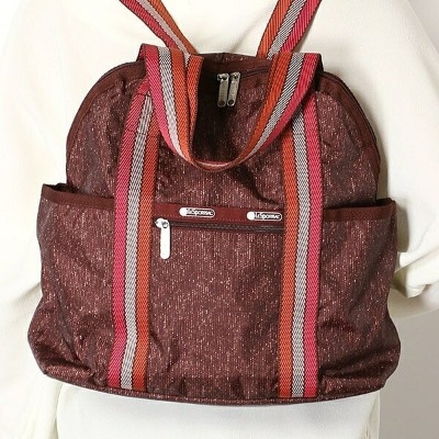 DOUBLE TROUBLE BACKPACK/トワイライトツイード/レスポートサック(LeSportsac)