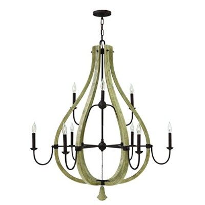 Fredrick Ramond fr405789ライト2TierシャンデリアからThe Middlefield Collectio、 41 in. W x in. D x 45.5 H...
