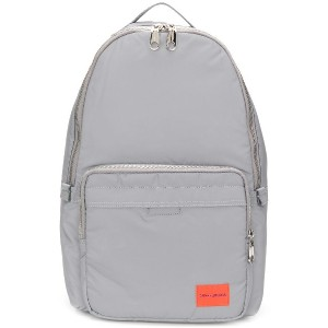 Calvin Klein Jeans logo patch backpack - グレー
