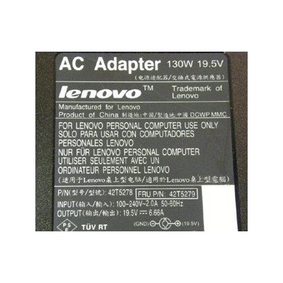 【astyle】 純正電源 Lenovo 42T5278/42T5279 19.5V6.66A