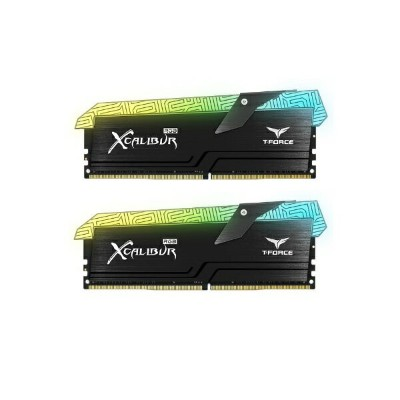 Team TF6D416G3600HC18EDC01 [DDR4-3600/8GB x2枚] デスクトップ用メモリ T-Force XCALIBUR RGB Special Edition