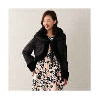【SALE(三越)】 TO BE CHIC/TO BE CHIC  リバーシブルボレロ(W5762831__) クロ 【三越・伊勢丹/公式】 ファッション小物~~スカーフ