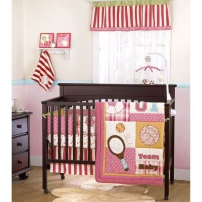 Cocalo Play Date Sports 4 Piece Baby Crib Bedding Set by Cocalo
