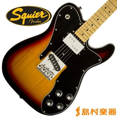 Squier by Fender Vintage Modified Telecaster Custom Maple Fingerboard 3CS(3カラーサンバースト) テレキャスター ...