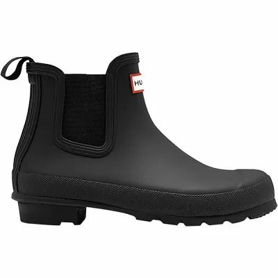 ハンター Hunter レインシューズ・長靴 Original Chelsea Rain Boot Black