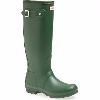 ハンター HUNTER レインシューズ・長靴 Original Tall Rain Boot Hunter Green