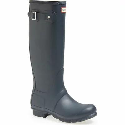 ハンター HUNTER レインシューズ・長靴 Original Tall Rain Boot Navy Matte