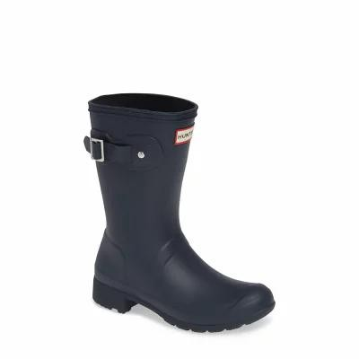 ハンター HUNTER レインシューズ・長靴 Original Tour Short Packable Rain Boot Navy