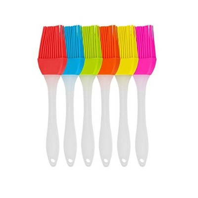 TICARE Silicone Pastry Brush, Great for Baking刷毛、マルチカラー