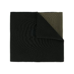 Wooyoungmi panelled scarf - ブラック