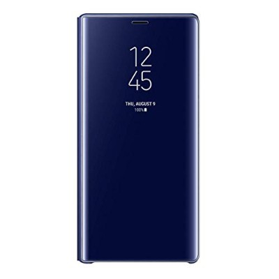Galaxy Note9 CLEAR VIEW STANDING COVER ブルー【Galaxy純正 国内正規品】 EF-ZN960CLEGJP