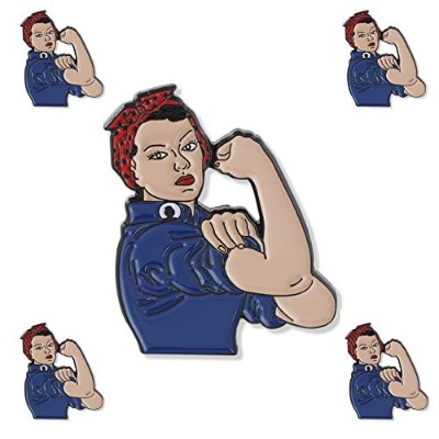 Forge Rosie The Riveter and We Can Do It ピンエナメルピンセット